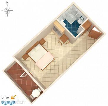 Studio flat AS-5239-a - Apartments Stomorska (Šolta) - 5239