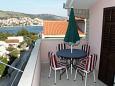 Bušinci, Terrace 1 u smještaju tipa apartment, s pogledom na more i WIFI.