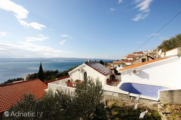 Property Mimice (Omiš) - Accommodation 5262 - Vacation Rentals with pebble beach.