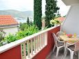 Rogoznica, Balcony 1 u smještaju tipa apartment, s pogledom na more i WIFI.