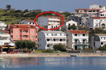 Property Metajna (Pag) - Accommodation 527 - Apartments with sandy beach.