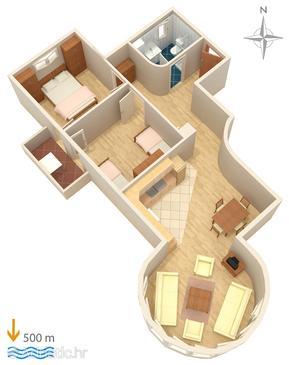 Apartment A-5282-b - Apartments Biograd na Moru (Biograd) - 5282