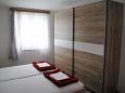 Jadranovo, Bedroom u smještaju tipa apartment, WIFI.