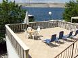 Terrace 2 - Apartment A-5286-a - Apartments Jadranovo (Crikvenica) - 5286