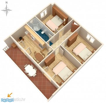 Apartment A-529-b - Apartments Pag (Pag) - 529