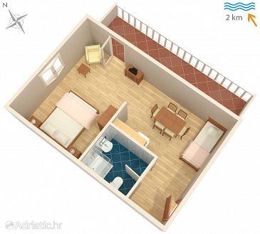 Studio flat AS-5291-d - Apartments Sveti Anton (Krk) - 5291