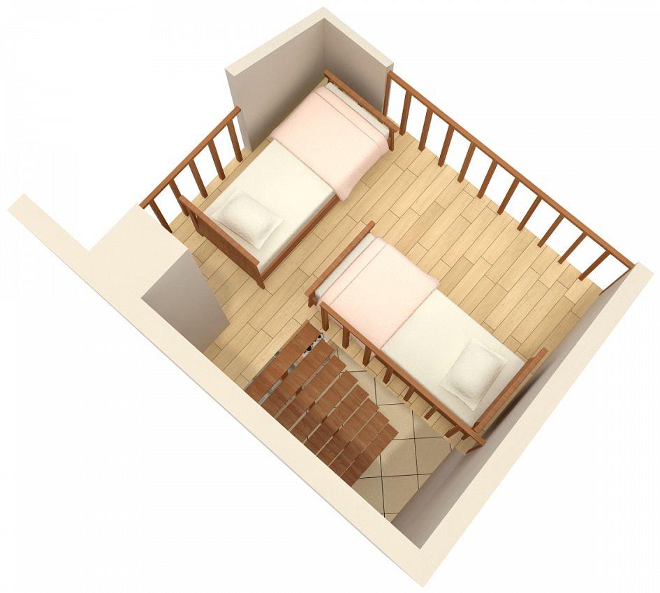 Apartmány s parkoviskom v meste Krk - 5294