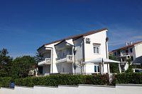 Apartmány přímo u moře Njivice (Krk) - 5295