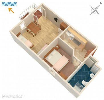 Apartment A-5297-b - Apartments Njivice (Krk) - 5297