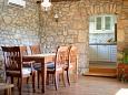 Županje, Dining room u smještaju tipa apartment, dostupna klima.