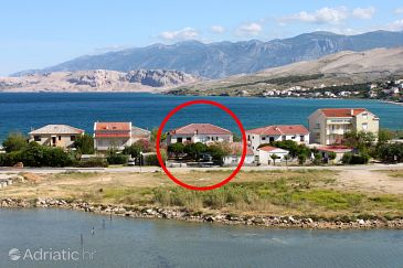 Property Pag (Pag) - Accommodation 531 - Apartments and Rooms near sea with pebble beach.