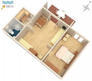 Apartment A-5313-c - Apartments Vantačići (Krk) - 5313