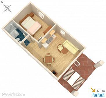 Apartment A-5342-d - Apartments Baška (Krk) - 5342