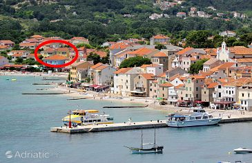 Property Baška (Krk) - Accommodation 5358 - Apartments near sea with pebble beach.