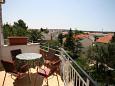 Novalja, Terrace u smještaju tipa apartment, s pogledom na more i dopusteni kucni ljubimci.