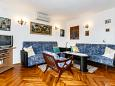 Living room - Apartment A-5368-b - Apartments Kornić (Krk) - 5368