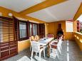 Terrace - Apartment A-5368-b - Apartments Kornić (Krk) - 5368