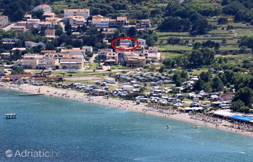 Property Baška (Krk) - Accommodation 5405 - Rooms with pebble beach.
