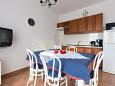 Punat, Kitchen u smještaju tipa apartment, WIFI.