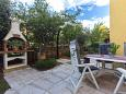 Punat, Krk, Courtyard 5408 - Apartments u Hrvatskoj.