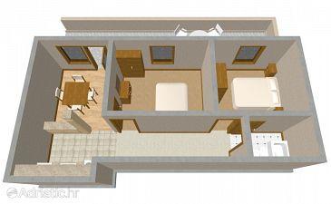 Apartment A-541-a - Apartments Vrboska (Hvar) - 541