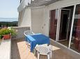 Terrace 2 - Apartment A-5427-a - Apartments Njivice (Krk) - 5427
