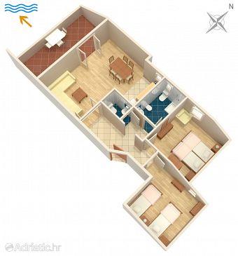 Apartament A-5427-b - Apartamenty Njivice (Krk) - 5427