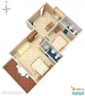 Apartment A-5444-a - Apartments Baška (Krk) - 5444