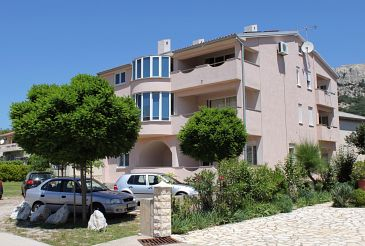 Property Baška (Krk) - Accommodation 5444 - Apartments with pebble beach.
