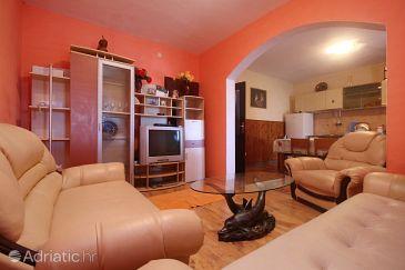 Zavalatica, Living room u smještaju tipa apartment, dostupna klima, dopusteni kucni ljubimci i WIFI.