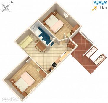 Apartment A-5457-e - Apartments Malinska (Krk) - 5457