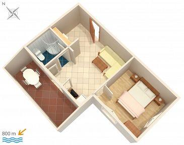 Apartament A-5458-e - Kwatery Njivice (Krk) - 5458
