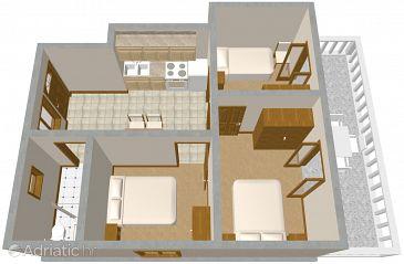 Apartment A-546-a - Apartments Zavalatica (Korčula) - 546