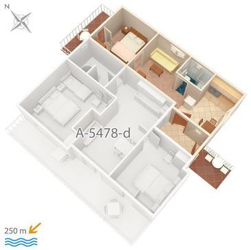 Apartament A-5478-b - Apartamenty Crikvenica (Crikvenica) - 5478