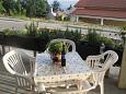 Terrace - Apartment A-5479-c - Apartments Novi Vinodolski (Novi Vinodolski) - 5479