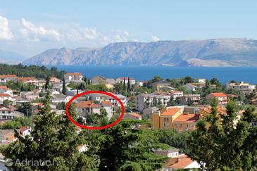 Property Selce (Crikvenica) - Accommodation 5481 - Apartments and Rooms with pebble beach.
