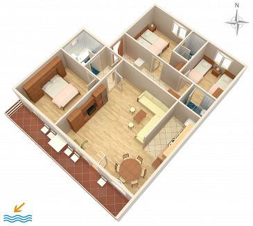 Apartment A-5494-a - Apartments Crikvenica (Crikvenica) - 5494