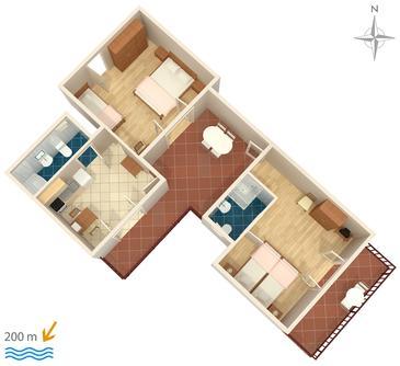 Apartment A-5496-a - Apartments Selce (Crikvenica) - 5496