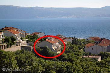 Property Klenovica (Novi Vinodolski) - Accommodation 5504 - Apartments with pebble beach.