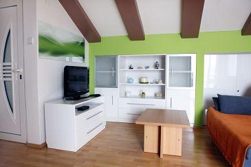 Dramalj, Living room u smještaju tipa apartment, WIFI.