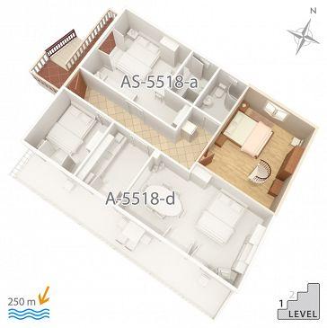 Apartment A-5518-a - Apartments Selce (Crikvenica) - 5518