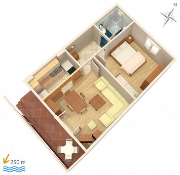Apartament A-5518-c - Apartamenty Selce (Crikvenica) - 5518