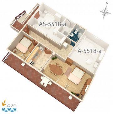 Apartament A-5518-d - Apartamenty Selce (Crikvenica) - 5518