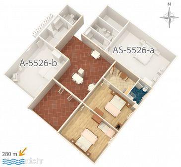 Apartment A-5526-a - Apartments Novi Vinodolski (Novi Vinodolski) - 5526