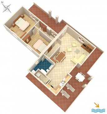 Dom K-5536 - Willa Kapelica (Labin) - 5536