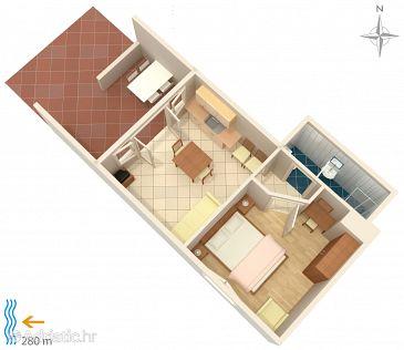 Apartment A-5548-a - Apartments Klenovica (Novi Vinodolski) - 5548