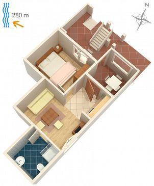 Apartament A-5548-c - Apartamenty Klenovica (Novi Vinodolski) - 5548