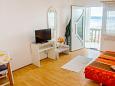 Bedroom - Studio flat AS-5551-a - Apartments Dramalj (Crikvenica) - 5551
