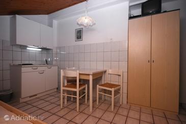 Crikvenica, Dining room u smještaju tipa studio-apartment, dopusteni kucni ljubimci i WIFI.