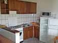 Klenovica, Kitchen u smještaju tipa apartment, WIFI.